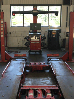 High Tech Tire & Auto | State of the Art Alignment Equipment | 919-309-9987 | 4647 Hillsborough Rd, Durham NC 27705